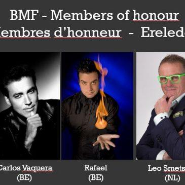 Membres d'honneur – Ereleden