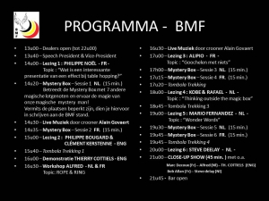 BMF Meet & Share 2014